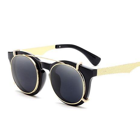 Gafas de sol coloridas de doble lente de moda NHFY153797's discount tags