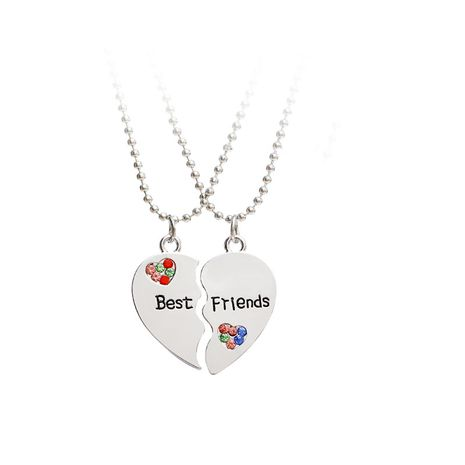 Mode wilde Best Friends Diamantnähte Liebes-Halskette für Frauen NHMO251020's discount tags
