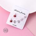 NHMS1040130-18K9538-Red-Ladybug-(925-Silver-Needle