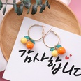 NHMS1040144-W3206A-Orange+Yellow-(Ear-Ring-Type)