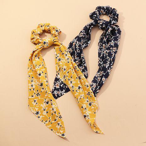 Vente chaude banderoles de prêle longues franges petit anneau floral gros intestin tête fleur corde de cheveux pour femmes NHAU240793's discount tags