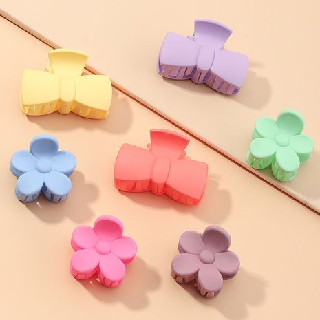 new large bath tray hair clip frosted practical hairpin headdress suit wholesale NHAU240829's discount tags