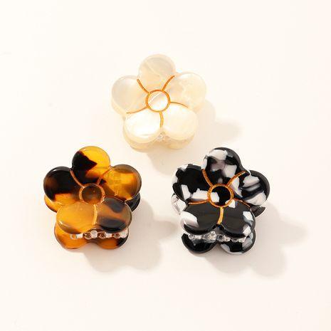 nueva horquilla de flores de ácido acético que agarra la placa de la placa de clip de pelo clip de cola de caballo al por mayor NHAU240835's discount tags