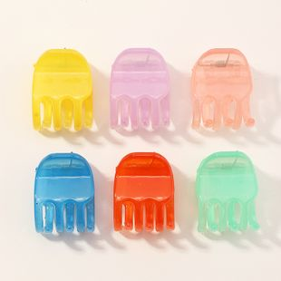sweet candy color small catch clip color mini clip fashion solid color small hair clip wholesale NHAU240855's discount tags