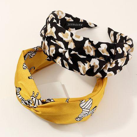 Forme la nueva venda de la impresión de la tela de la venda del lunar sombreros de las mujeres NHAU240860's discount tags