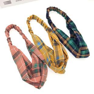 Fabric retro fashion headband headscarf for women wholesale NHDQ240897's discount tags