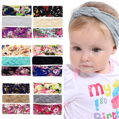 cute  baby print headband three-piece set  wholesale NHWO240935's discount tags