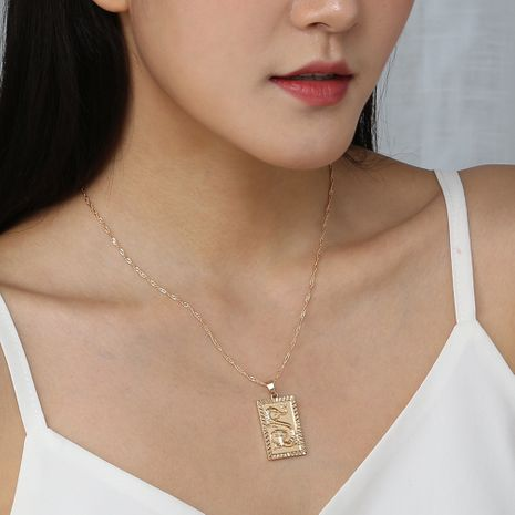 new simple fashion dragon pendant alloy wild men and women hip hop necklace  NHAN240950's discount tags