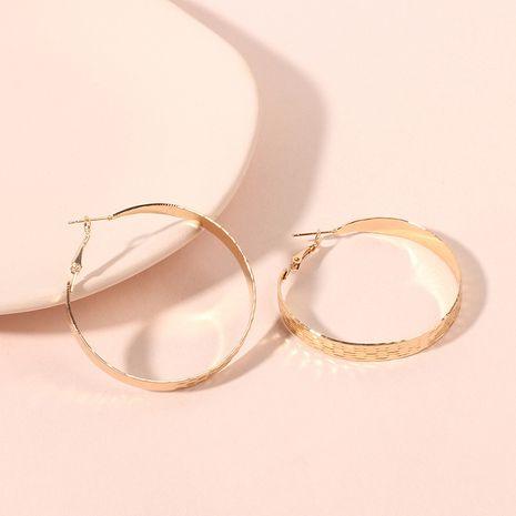 nouvelles boucles d'oreilles rondes exagérées mode simple boucles d'oreilles populaires accessoires en gros nihaojewelry NHRN240997's discount tags