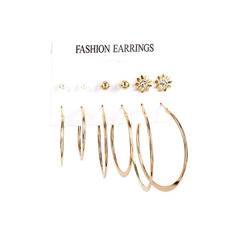 Boucles d'oreilles à la mode pour femmes NHRN241003's discount tags