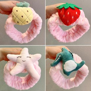 Korean pink super cute cartoon sweet girls hair band headband  wholesale NHNA241048's discount tags