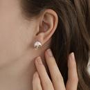 Umbrella Lightning 925 Silver Needle Fashion Creative New Asymmetric Earrings wholesale nihaojewelry NHPP241070