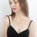 Fashion retro tree of life pendant alloy ladies peace tree necklace clavicle chain NHMO241133