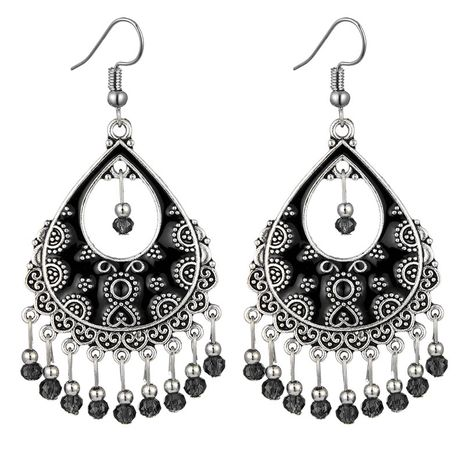 fashion retro celebrity style simple contrast color drop earrings wholesale nihaojewelry NHSC241239's discount tags