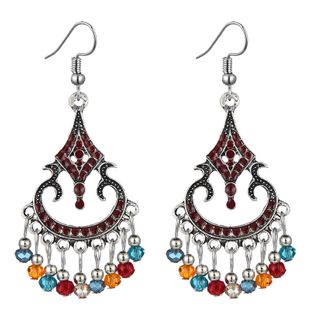 fashion retro clan style simple hollow water drop earrings wholesale nihaojewelry NHSC241237's discount tags