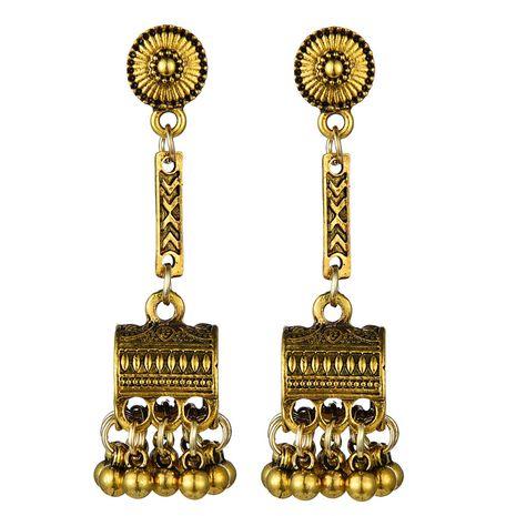fashion metal retro treasure box dripping earrings wholesale nihaojewelry NHSC241597's discount tags