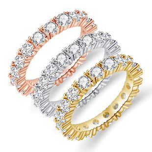 popular new  diamond fashion all-match ring wholesale nihaojewelry NHAN241141's discount tags