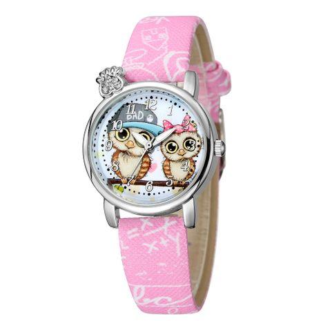 Lindo y dulce estilo búho patrón cinturón reloj diamante mano británico reloj al por mayor NHSS241148's discount tags