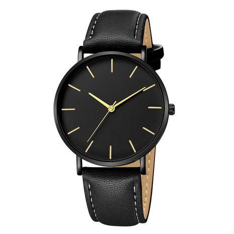 Cinturón de moda simple reloj casual de estilo británico para hombres ultrafinos al por mayor NHSS241152's discount tags