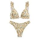 Nouveau maillot de bain bikini  imprim sexy pour filles maillot de bain en gros NHHL241257