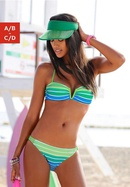 nouveau style de maillot de bain dgrad imprim sexy bikini vsupport en gros nihaojewelry NHHL241298