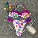 vente chaude dames bikini split impression sexy triangle maillots de bain en gros nihaojewelry NHZO241312