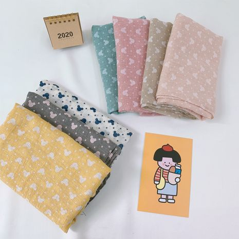cute cartoon children scarf new cotton and linen baby scarf wholesale NHCJ241466's discount tags