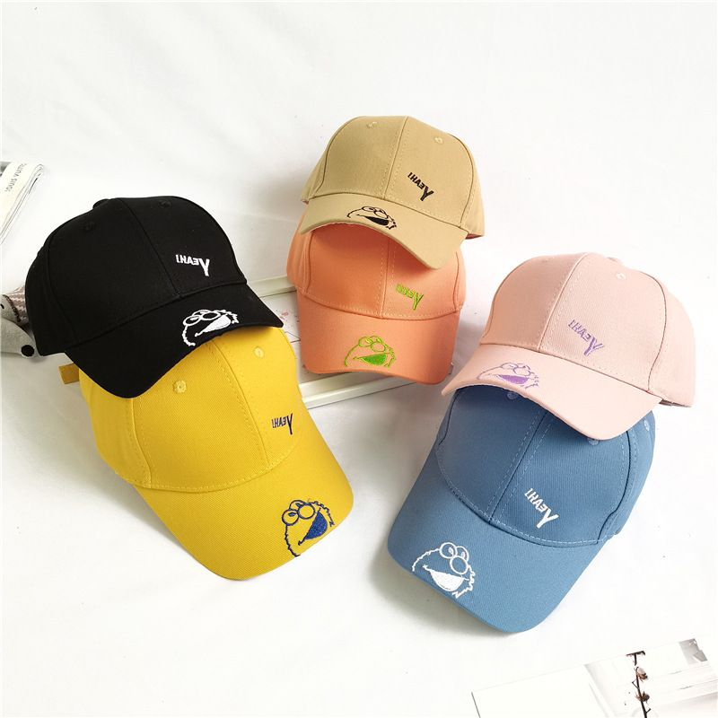 Children's baseball hat cotton spring and summer caps sun hat wholesale NHCM241515