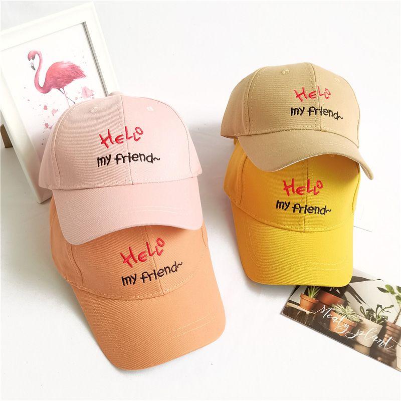 Children's hats sunscreen spring and autumn Korean baby baseball cap sunshade cap wholesale NHCM241516