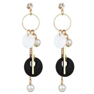 fashion metal wild simple ring earrings NHSC242054's discount tags