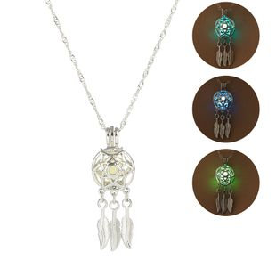 Fashion new dream catcher luminous pendant fashion all-match necklace for women jewelry wholesale NHAN241609's discount tags