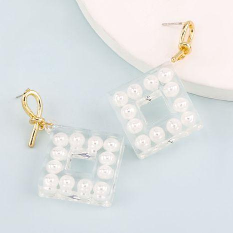 Boucles d'oreilles en résine étoile à cinq branches de style minimaliste de mode en gros nihaojewelry NHJE241673's discount tags