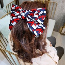 red big bow spring clip cute hairpin sweet top clip hairpin wholesale nihaojewelry NHUX241698