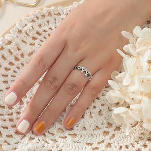bague couronne originale de mode bague en diamant en alliage tendance simple en gros nihaojewelry NHKQ241719's discount tags