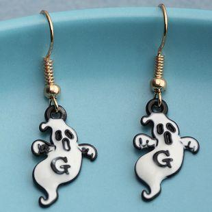 Drôle Halloween fantôme Petites boucles d'oreilles en gros NHNZ241744's discount tags