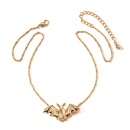 fashion jewelry pendants hiphop trend brand bat alloy jewelry necklace for women wholesale NHAI241753