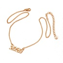 Fashion new accessories exaggerated multilayer lock heart beauty tide alloy necklace for women wholesale NHAI241757