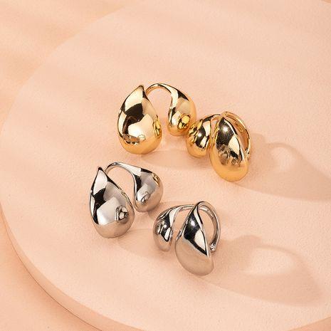 new painless simple street punk no pierced ear clips earrings wholesale nihaojewelry NHAI241771's discount tags