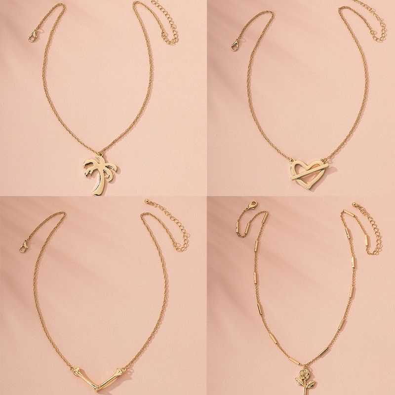 Fashion new choker girl fine Korea slim pendant necklace clavicle chain for women wholesale  NHAI241780