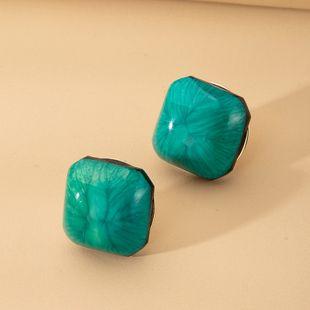 Boucles d'oreilles en résine de mode simple coréenne tendance en gros nihaojewelry NHAI241799's discount tags