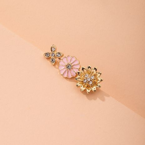 new hot sale fashion small daisy drip  trend earrings for women NHAI241801's discount tags