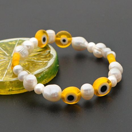 hot sale eye fashion wild natural pearl bracelet for women wholesale NHGW241884's discount tags