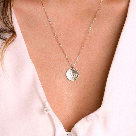Nuevo collar 925 plata geométrica moda colgante decorativo collar para mujeres al por mayor NHTF242010's discount tags