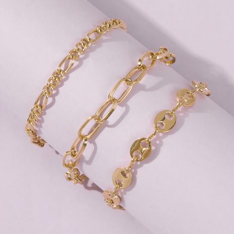 New creative simple chain alloy bracelet NHMD242041's discount tags