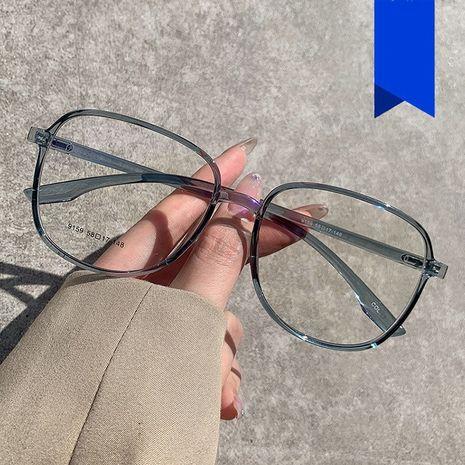 Gafas de gelatina de luz anti-azul marco nueva moda transparente Corea moda plana anti-luz azul gafas al por mayor nihaojewelry NHKD235516's discount tags