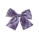 Korean back head top clip lattice bow spring clip hairpin wholesale nihaojewelry NHAU242090