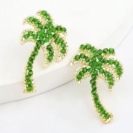 Corée simple alliage de noix de coco acrylique boucles d'oreilles mignonnes en gros nihaojewelry NHJE242129's discount tags