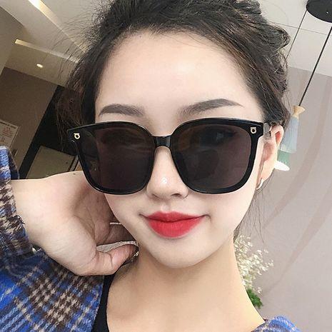 Gafas de sol anti-UV UV retro de la calle de la nueva moda de la tendencia cuadrada al por mayor NHKD242171's discount tags