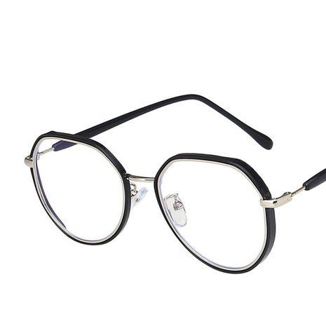 nuevo espejo plano coreano marco irregular espejo plano liso retro gafas de tendencia de todos los partidos NHKD242180's discount tags