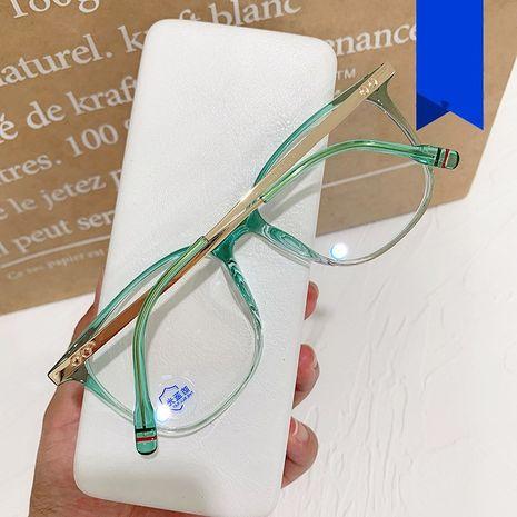 retro anti-luz azul nuevo gran negocio de moda espejo plano marco de gafas NHKD242182's discount tags